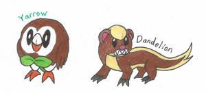 Yarrow and Dandelion by Ardomew