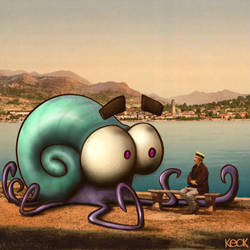 Mollusks Fear Confrontation  by davekeck