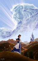 Beauty and the Beast - (My 1st digital drawing) by Chris-Darril