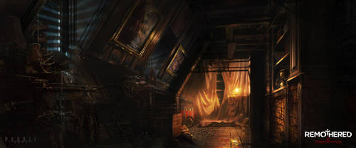 REMOTHERED: Tormented Fathers - Attic (Concept) by Chris-Darril