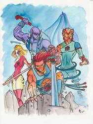 Thundercats by illicitjedi