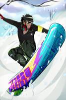 NNBK - Snowboarding Micchan by TakumixXx