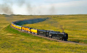 Union Pacific 844 by eDDie-TK
