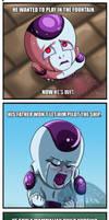 Six Reasons Why Prince Freeza is Crying by ladytygrycomics