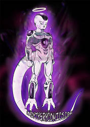 Ultra Instinct Freeza by ladytygrycomics