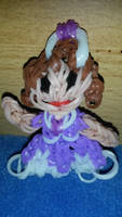Sofia the first loom band doll by Schrucy