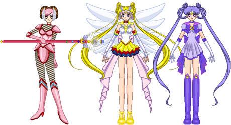 SSMU Contest Entry - Redesign Sailor Moon by invertqueen7