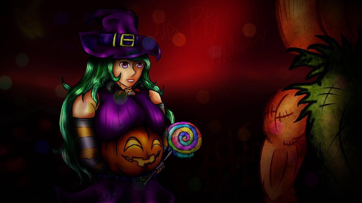 Halloween Witch by Ro4le