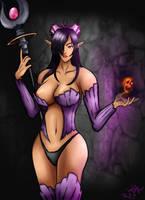 Queen of the dark elves ORIGA by Ro4le