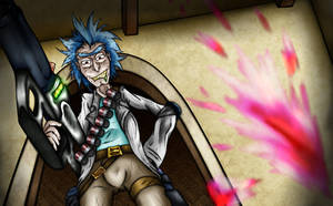 Total Rickall (Scene redraw) by Ro4le