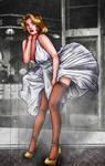 Marilyn Monroe by Ro4le