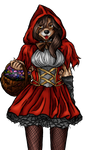 (commision) Red Ridding Hood- Sandra's  Cosplay by Ro4le