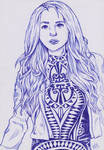 (Teaditional art) Alissa White-Gluz by Ro4le