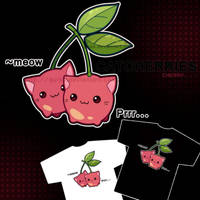 Catcherry tshirt design by Quiss