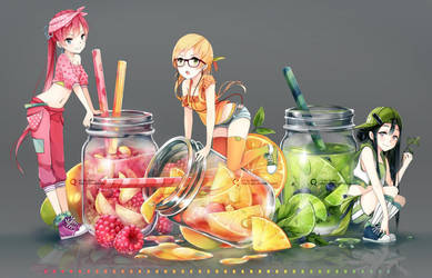 Jar girls by Quiss