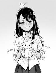 Please dont bunny me Nagatoro san by Quiss