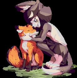 Friendly Fox by goshaag