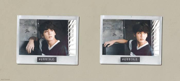 [EDIT] 180316 // Jungkook + Polaroids by Aryandil