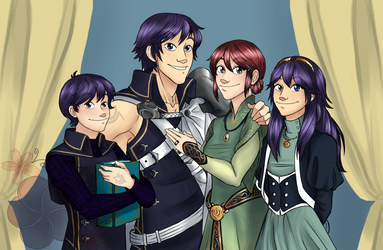 FE:A- Ylisse Royal Family by HinataElyonToph