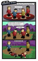Star Trek Comic: Transporter.. by CodeGeorge