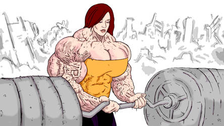 Barbell Biceps Curl by FemGore