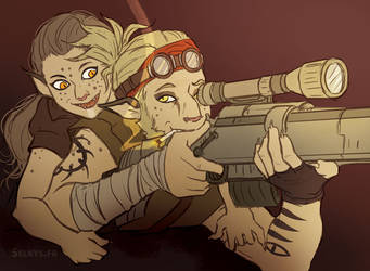 Klynt and Tuwih by Selkys