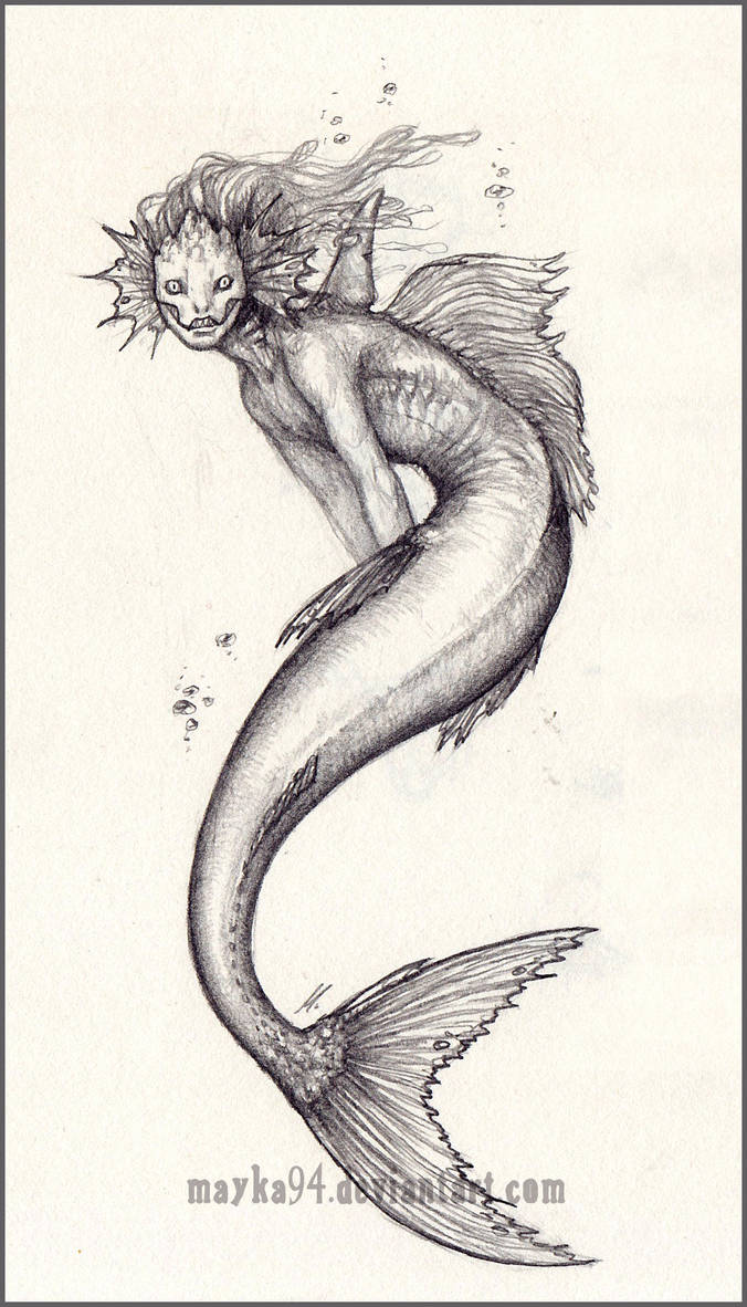 Mermaid by Mayka94