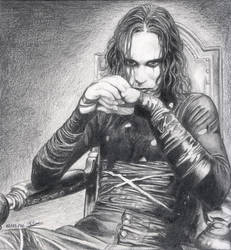Brandon Lee - The Crow by Elodie76