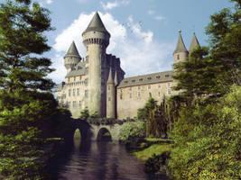 Castle view by geograpcics