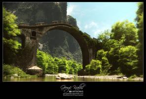 Stone bridge by geograpcics