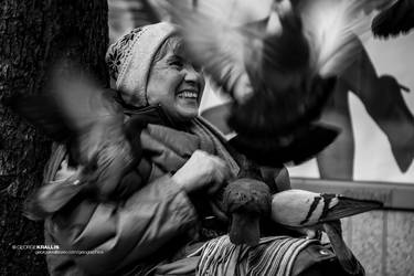 The Pigeon Lady by geograpcics