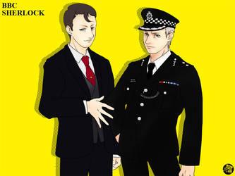 BBCSherlock:Guardian of Law by yasaka-unabara