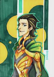 Loki by EvnfreedRR