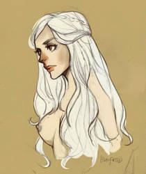 Daenerys by EvnfreedRR