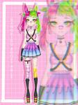 Acid rabbit adopt [OPEN] by NANOKIRU