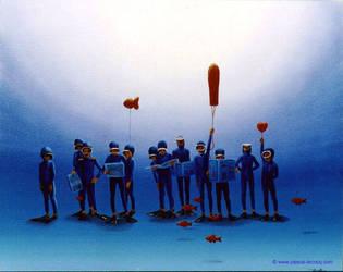 CHOEUR D ENFANTS -Children choir by bluepainter357