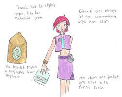 Officer Tecna's uniform by cupcakedoll
