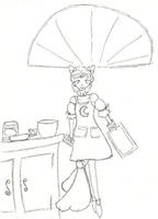 Cooking queen doodle by cupcakedoll