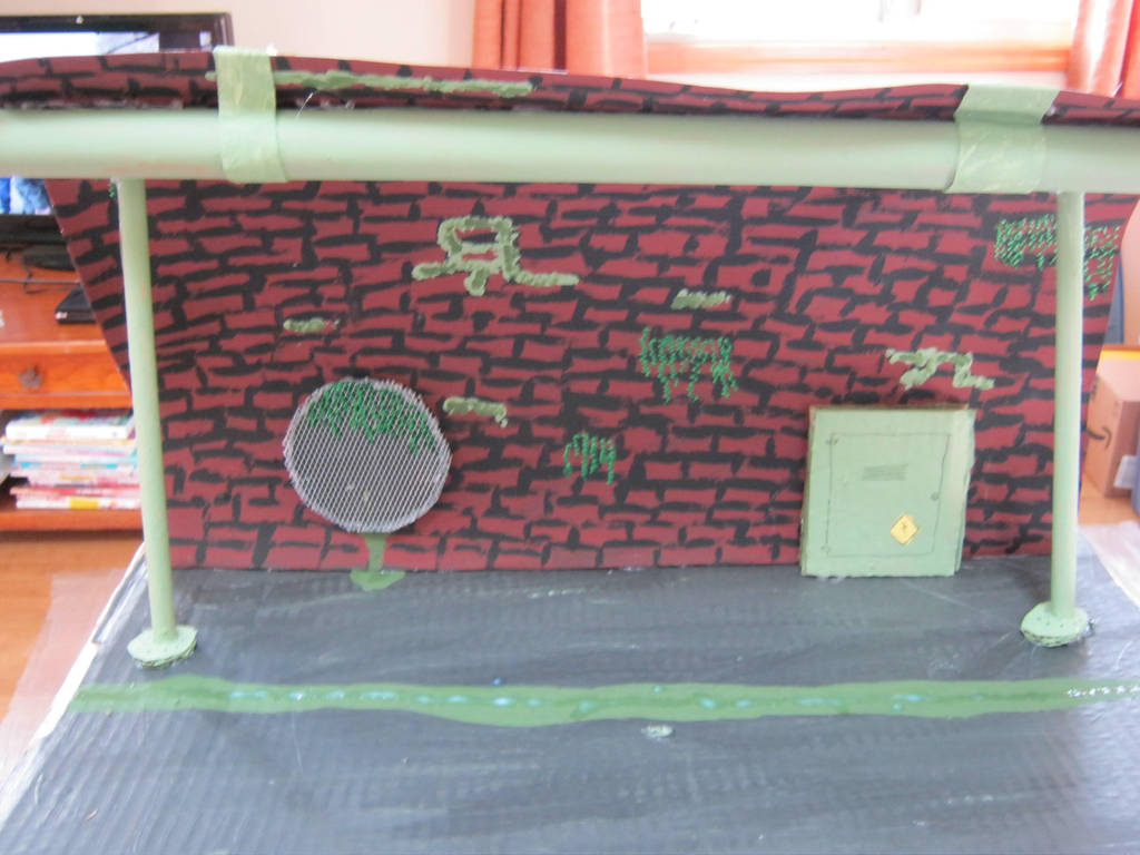 Turtle Sewer Lair by cupcakedoll