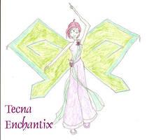 Tecna enchantix by cupcakedoll