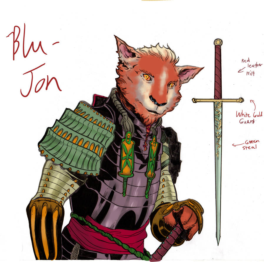 Blu-Jon color by RyanGutz