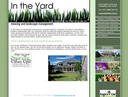 In the Yard, Site Design by ChadJackson