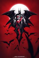 BATMAN- Harley Quinn -red by e-guerrero