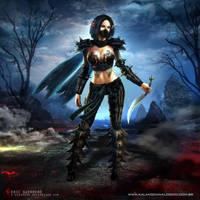 Elf Assassin by e-guerrero