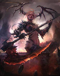 Queen Of Hell by e-guerrero