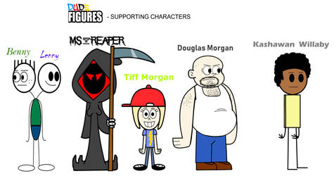 Dude Figures - Supporting Characters Part 2 by MegaD3