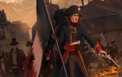 AC Unity Revolution   Arno Napoleon by MByak