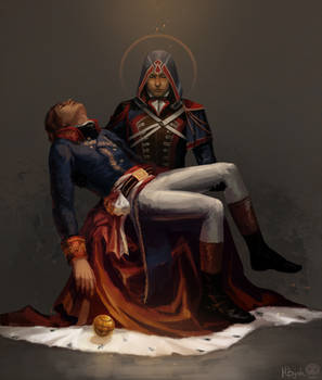 Arno Dorian x Napoleon Bonaparte by MByak