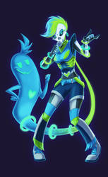 SPACE RAVE Ghost by Scyrel
