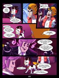 The Mystery Skulls Misadventures: 'Wounds' pg28 by Scyrel
